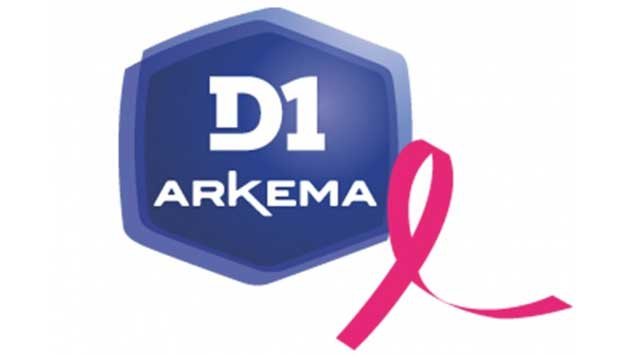 La D1 Arkema s'engage pour octobre rose