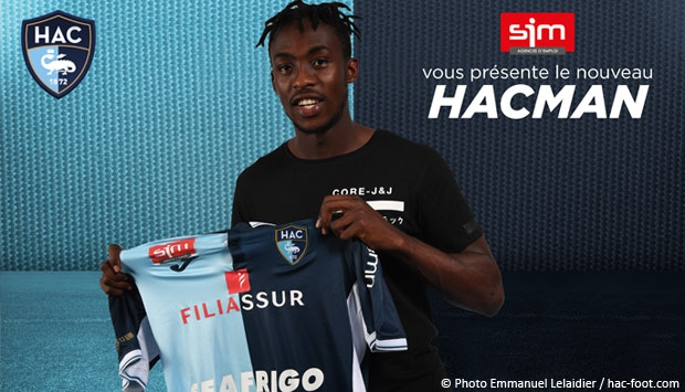 L'attaquant international Tino Kadewere signe au HAC